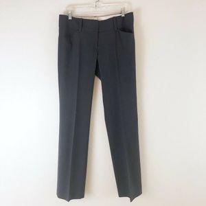 Ann Taylor Gray Modern Dress Pants Ankle Length 6